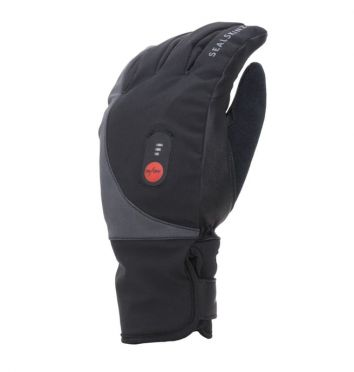 SealSkinz Cold weather heated glove black