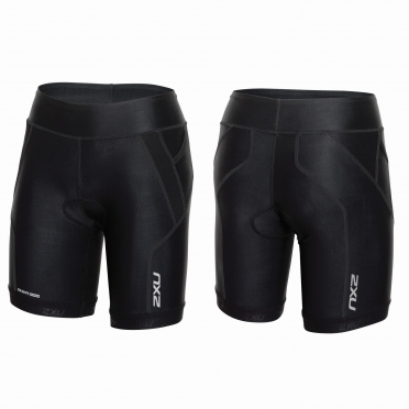 "2XU Perform 7"" Tri short black women"