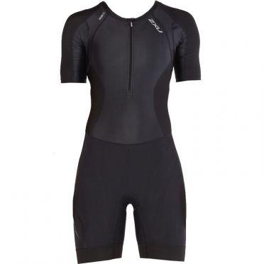 2XU Compression short sleeve trisuit black women