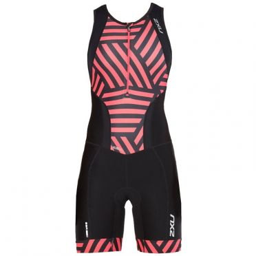 2XU Perform sleeveless trisuit black/red women