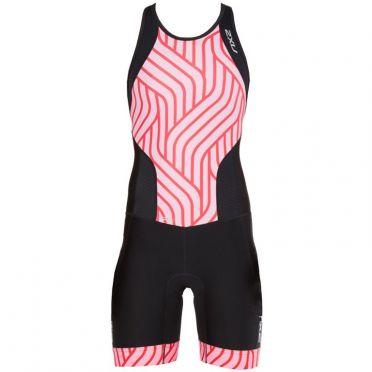 2XU Perform Y-back trisuit black/pink women