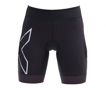 2XU Compression tri shorts black women