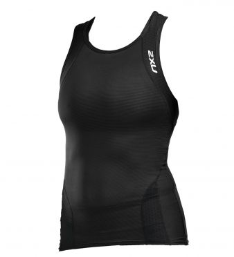 2XU Perform sleeveless tri top black women