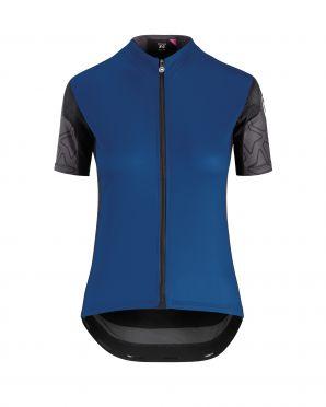 Assos XC short sleeve jersey blue women