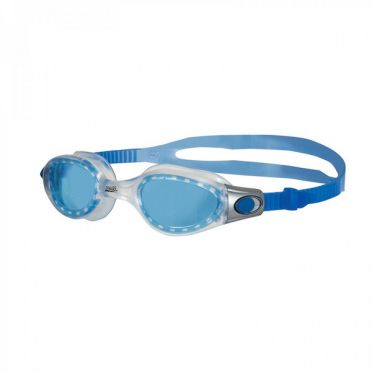 Zoggs Phantom Elite goggles grey/blue - blue lens