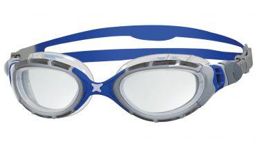 Zoggs Predator flex 2.0 goggles silver/blue