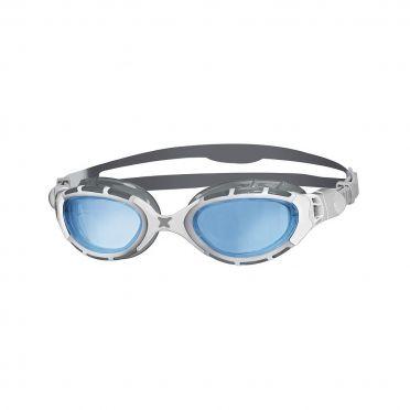 Zoggs Predator flex 2.0 goggles silver/white