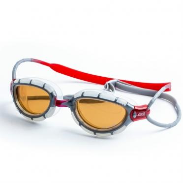Zoggs Predator Polarized Ultra goggles grey/red