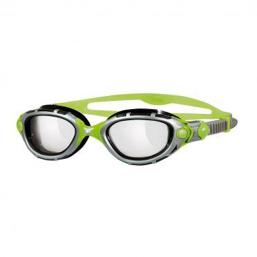 Zoggs Predator Flex Reactor Titanium goggles grey/green