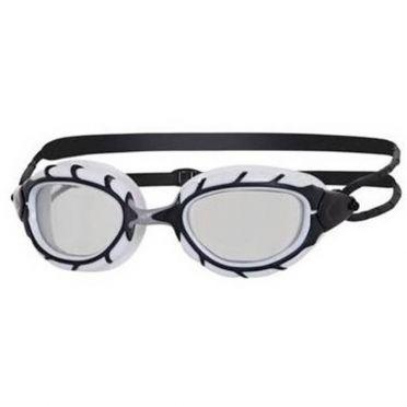 Zoggs Predator goggles white/black - dark lens