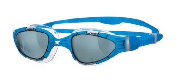 Zoggs Aqua flex dark lens goggles blue