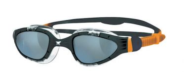 Zoggs Aqua flex dark lens goggles black/orange