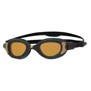 Zoggs Predator Flex Polarized Ultra Reactor swimgoggles black/gold