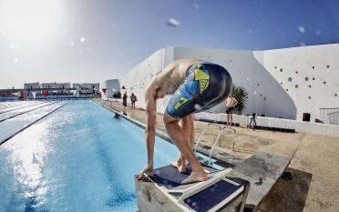 Swimming gear men