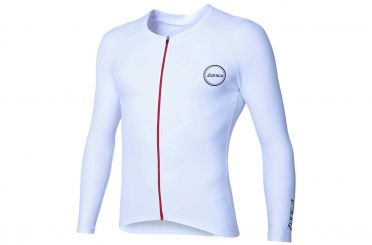 Zone3 Lava Speed long sleeve tri top wit men