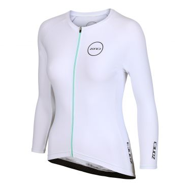Zone3 Lava Aero long sleeve tri top wit women