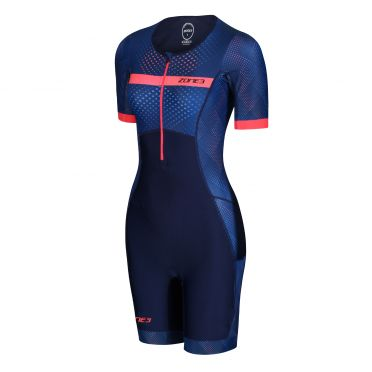 Zone3 Activate plus short sleeve trisuit Revolution women