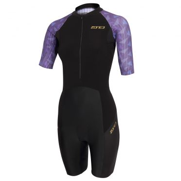 Zone3 Lava short sleeve trisuit women