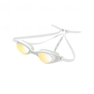 Zone3 Aspect goggles mirror lens clear white
