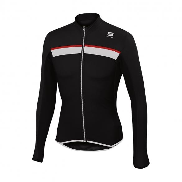 Sportful Pista long sleeve cycling jersey black men online  Order ... 94db10754