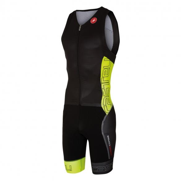 Castelli Free sanremo tri suit sleeveless men black/yellow 16071-321  CA16071-321
