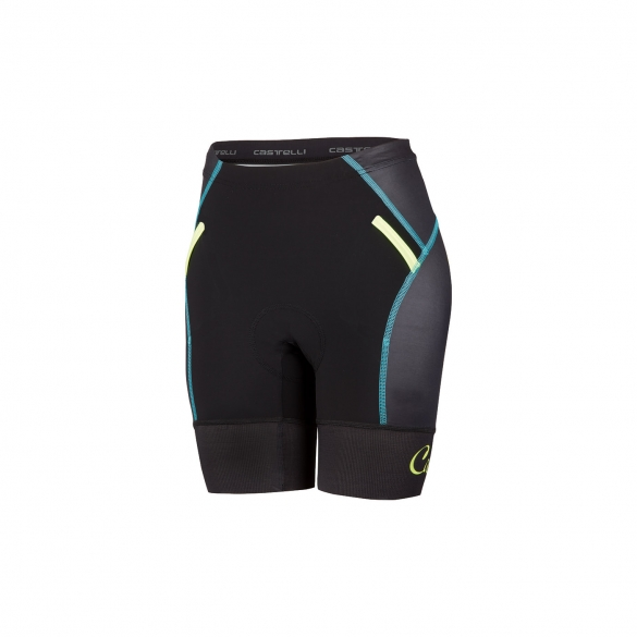 Castelli Free W tri Short black/yellow women 16078-321  CA16078-321