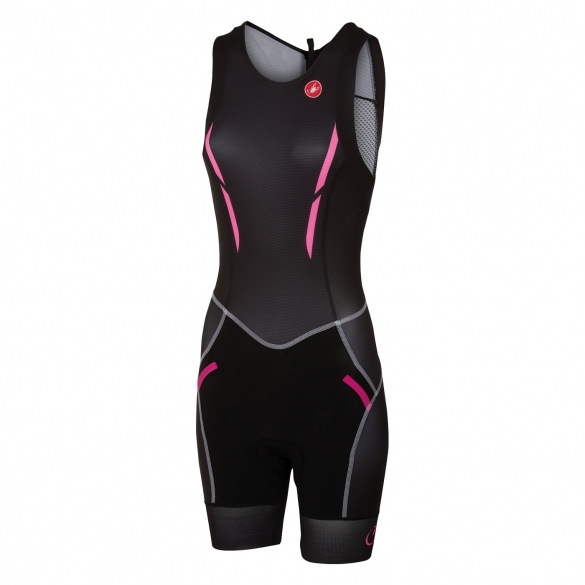 Castelli Free W tri itu suit sleeveless black women 16079-010  CA16079-010