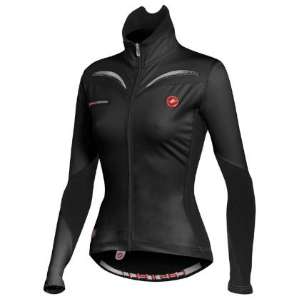 Castelli Trasparente W jersey black women 10519-010 2015  CA10519-010(2015)