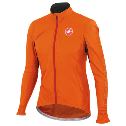 Castelli Velo jacket orange-fluo mens 14026-036  CA14026-036