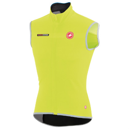 Castelli Fawesome 2, gabba windvest vest yellow-fluo mens 14514-032  CA14514-032