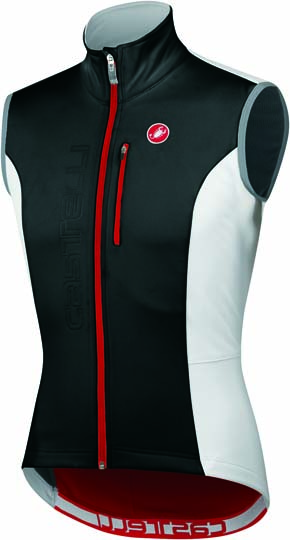 Castelli Isterico windvest black/white/red mens 11504-101  CA11504-101