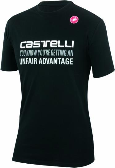 Castelli advantage T-shirt black mens 14074-010  CA14074-010