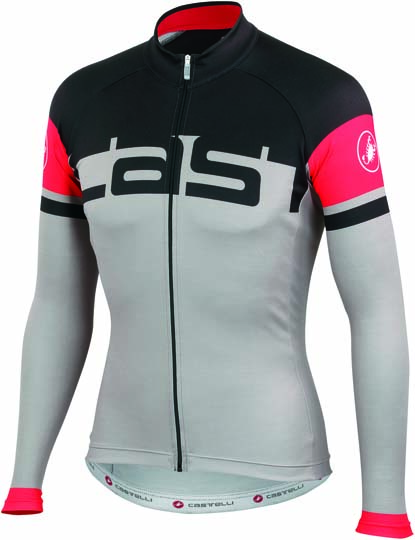 Castelli Unavolta jersey FZ grey/black mens 14523-008  CA14523-008