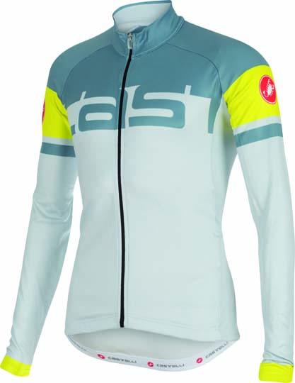 Castelli Unavolta jersey FZ ice/blue stone mens 14523-064  CA14523-064