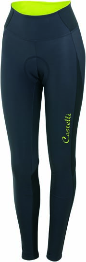 Castelli Illumnia tight anthracite/sulphur women 14564-015  CA14564-015