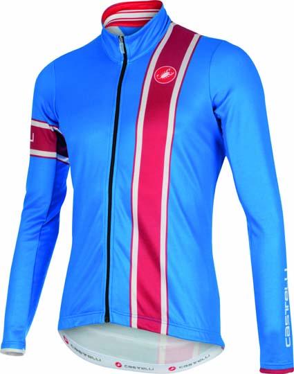 Castelli Storica jersey FZ blue/red mens 15532-059  CA15532-059