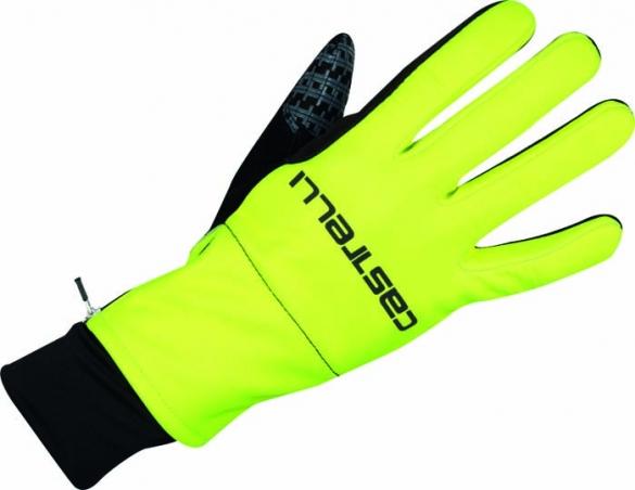 Castelli Gara midweight glove yellow-fluo/black mens 15541-932  CA15541-932