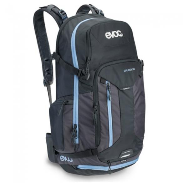 Evoc Explorer 30L Black-Mud Backpack 92367  92367