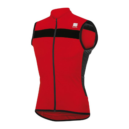 8ab030b74a3876 Sportful pista sleeveless cycling jersey red black men online  Order ...