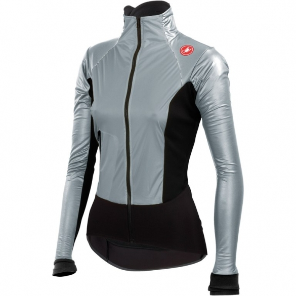 Castelli Cromo light W cycling jacket silver/black ladies 14555-007  CA14555-007