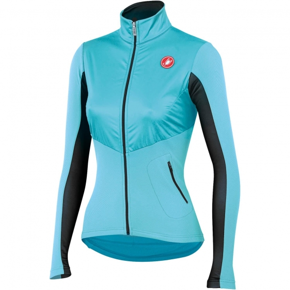 Castelli Illumina cycling jersey blue/anthracite ladies 14559-066  CA14559-066