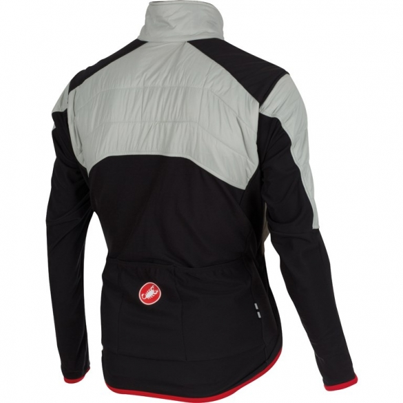 268db65dabc Castelli Cross prerace cycling jacket silver mens 15501-003 online ...