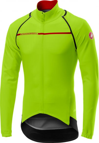 Castelli Perfetto convertible jacket yellow-fluo men online  Order ... 9cfcb41c6