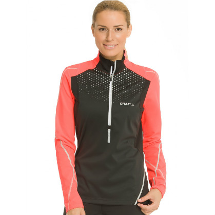 Craft performance run brilliant thermal wind jacket women for Craft pr brilliant thermal wind top