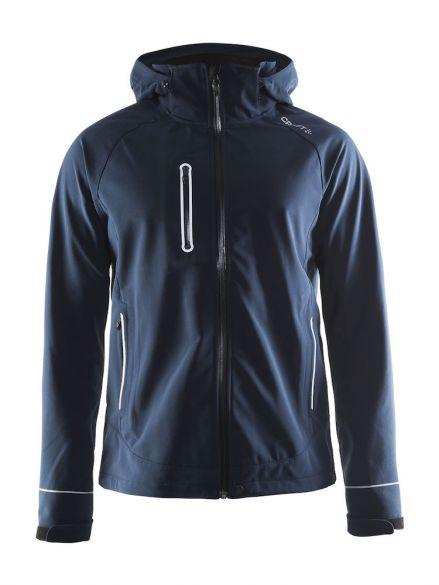 Craft Cortina soft shell jacket blue/navy men  1903554-1395