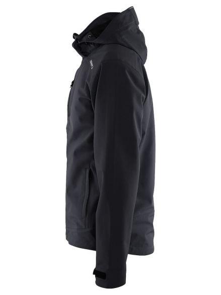 6d7fe561f226 Craft Light softshell jacket black men online  Find it at triathlon ...