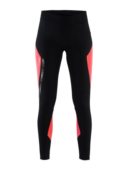 ad7af671e5ad8 Craft Brilliant 2.0 thermal run tight black/pink women online? Find ...