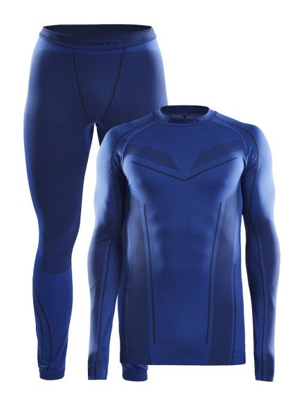 Craft Seamless Zone 2-Pack baselayer set blue men  1905330-360396