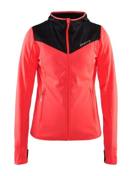 Craft Breakaway jersey running jacket pink women online  Order Find ... 4c2249a69
