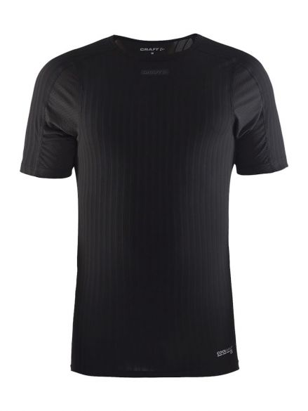Craft Active extreme 2.0 short sleeve baselayer black men  1905518-9999